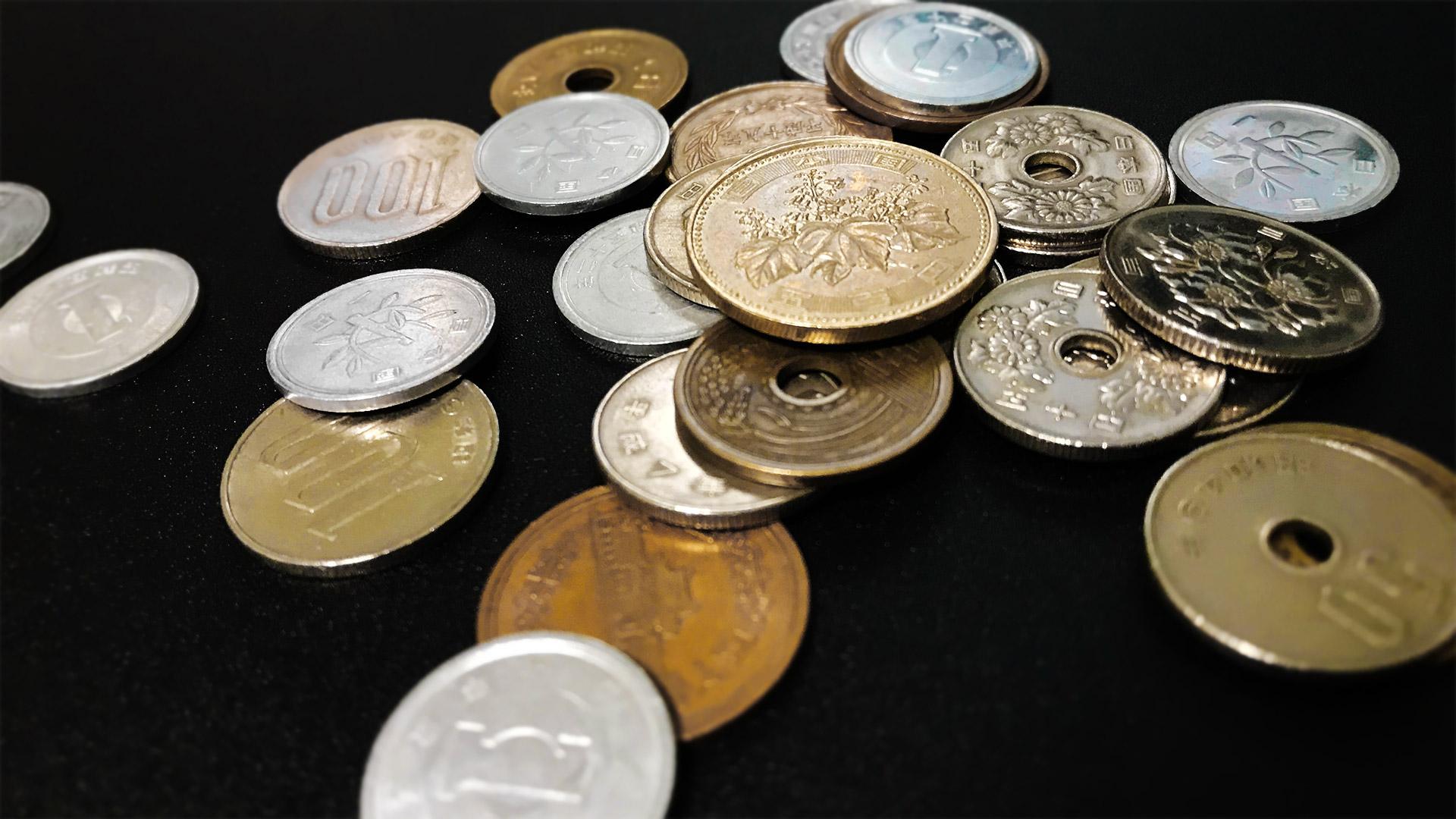 小銭の写真